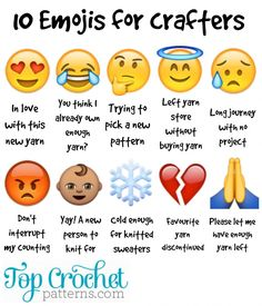 10 Emojis For Crafters
