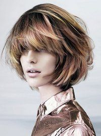 Layered Hairstyles for Round Faces   Pictures : Best Short Haircuts for Round Faces - Long Pixie Haircut