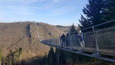 Is de langste hangbrug van Duitsland geschikt voor kinderen? Blogger Jolinda gaat op onderzoek uit en wandelt over de Geierlay met kinderen.