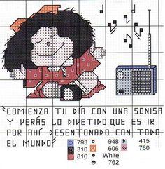 Punto Cruz Mafalda
