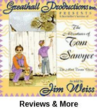 The adventures of Tom Sawyer [sound recording] : the Mark Twain classic / as told by Jim Weiss.