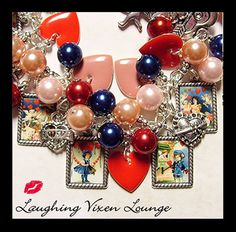 Valentine Jewelry  Valentines Day Jewelry  by LaughingVixenLounge, $45.00