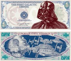 Darth Dollars - print out and each kid earns $1 Darth Dollar for participating in a game and $5 for winning it.  At the end of the party the kids can redeem their Darth Dollars for prizes at the Mos Eisley Cantina.