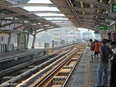 Gleise Skytrain Bangkok