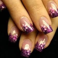 Resultado de imagen de purpurina uñas