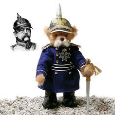 Otto von Bismarck 40 cm<br>Teddy Bear by Hermann-Coburg