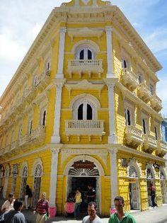 Colonial Latin American architecture - Cartegena, Colombia