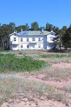 The most southern city in Finland ,Hanko, Finland