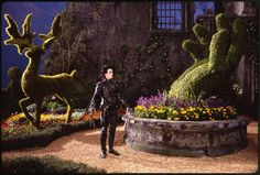 """Edward stands outside the castle, looking up at his old home. 