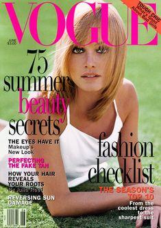 Amber Valletta by Steven Meisel Vogue US June 1995
