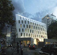 Butech y Krion llevarán a cabo la fachada ventilada de la nueva embajada de Francia en Tailandia