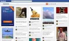 Aplicativo Pinview 'transforma' Facebook em Pinterest