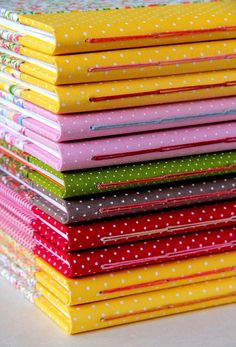 a lovely stack of handmade journals by Rosa Guimaraes of Zoopress | Flickr - Photo Sharing!