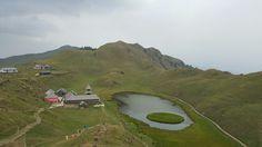 Parashar Lake, First view