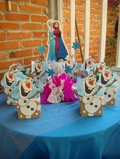 Dulceros Olaf Birthday Party, Frozen 3rd Birthday, 4th Birthday Parties, Frozen Disney, Party Themes For Boys, Ideas Para Fiestas, Happy B Day, Event Organization, Frozen Party