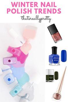 Winter Nagellack Trends  #nagellack #trends #winter Nagellack Trends, Nail Polish Trends, Winter Nails, Content, Color, Ideas, Colour, Colors