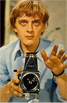 David Hemmings in Antonioni's Blow-up.