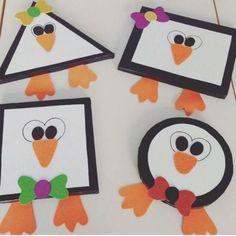 shapes penguin craft   Crafts and Worksheets for Preschool,Toddler and Kindergarten