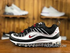 bf19e2b3734 240 Classic Nike W Air Max 98 Black White 640744-109