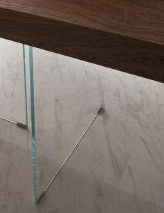 Crystal base wooden table Flai | milanomondo
