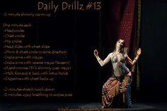 Daily Drills 13 - Layering (courtesy of http://tribalfusionskillzanddrillz.tumblr.com)