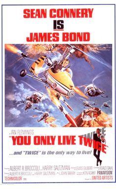 You Only Live Twice (1967) Directed by Lewis Gilbert.  With Sean Connery, Akiko Wakabayashi, Mie Hama, Tetsurô Tanba. Agent 007 and the Japanese secret service ninja force must find and stop the true culprit of a series of spacejackings before nuclear war is provoked.