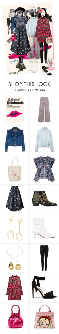 """Fashion finds"" by daizyjayne ❤ liked on Polyvore featuring Olympia Le-Tan, Joseph, Rebecca Taylor, Frame, Étoile Isabel Marant, Ganni, Chloé, Tabitha Simmons, Leigh Miller and Paige Denim"