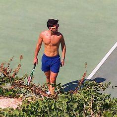 Repost Piero Barone Il Volo   #paparazzi #Malta #tennis  #