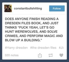 Dresden Files; Harry Dresden