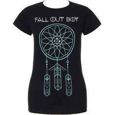 Band T Shirts, Official Rock & Metal Band Merchandise, Band Tees UK ($35) ❤ liked on Polyvore