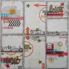 Page Challenge #3 - Use a project life style card on your page - homemade or store bought
