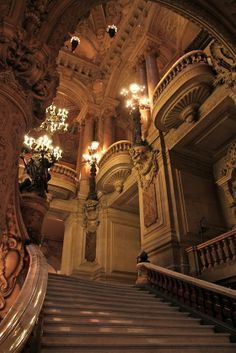 Balconies, Opera House, Paris
