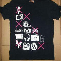 Music inspired Tee T-shirt graphic tee graphic t shirt Tops Tees - Short Sleeve