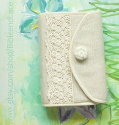 Hey, I found this really awesome Etsy listing at https://www.etsy.com/listing/103447545/bible-cover-custom-bible-cover-lace