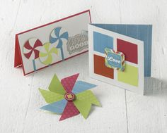 Card Project Idea using Candy Shop and Shape Maker System from Creative Memories