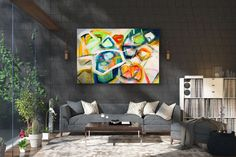 Large Abstract Painting,Large Abstract Painting on Canvas,texture painting,modern abstract,decor art,texture wall art FY0088