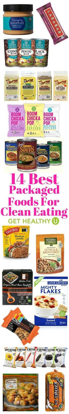 You can't always eat fresh. Sometimes you need convenience too! Here are our 14 favorite healthy packaged foods that are good for you and delicious!