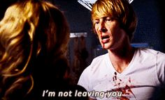 I'm not leaving you