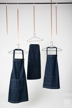 Our range of denim aprons is exclusive to Cargo Crew uniforms. Designed in house and made of the highest quality denim. More at http://cargocrew.com.au
