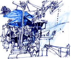 Going Big © Michele Bedigian #illustration #reportage #studio1482
