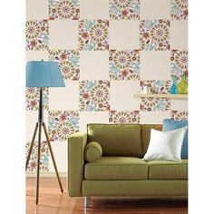 WallPops Kaleidoscope Blox #walldecals  #wallart  #peelandstick  #WallPops  #wallstickers  #decor  #DIY  #decorating