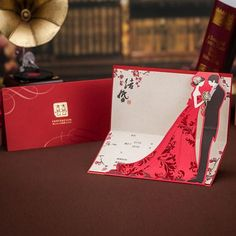 19 best asian chinese red double happiness wedding invitation cards asian theme double happiness red wedding invitation card 2015 new marriage card free customized print envelope seal cw3505 stopboris Images