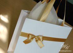 Elegant Welcome Bags with satin ribbon and bow  by WeddingUkraine Elegant Wedding Favors, Wedding Favors For Guests, Wedding Welcome Bags, Wedding Gifts, Elegant Birthday Party, Birthday Party Favors, Custom Gift Bags, Party Favor Bags, Paper Bags