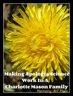Making Apologia Science Work in a Charlotte Mason Family @harmonyartmom