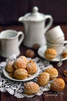 Diócska Cookies, Pretzel Bites, Food Photo, My Recipes, Nom Nom, Muffin, Bread, Breakfast, Photo Cakes