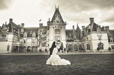 Getting married at the Biltmore Mansion? Don't mind of I do. I would die for a wedding there.
