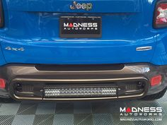 Jeep Renegade Rear Bumper Bar w/ LED Lights by MADNESS