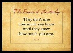 The Essence of Leadership
