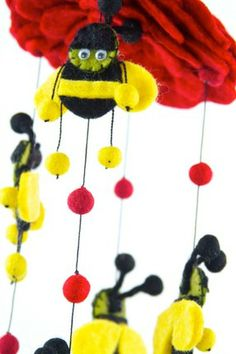 Fair Trade Bee Mobile for your little love - Global Groove   Tweli.com