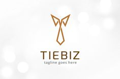 Tie Logo Template by gunaonedesign on Creative Market